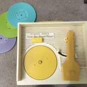 Repairing a Fisher Price Record Player - old plastic child's record player