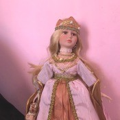Value of a Collectible Memories Doll - princess doll