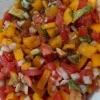 Bell Pepper Salsa in bowl