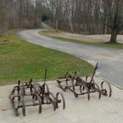 Identifying Old Farm Equipment - old equipment on the side of a road