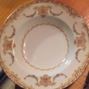 Value of Noritake China - plate
