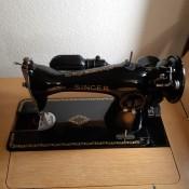 1951 Singer Sewing Machine Won't Start - vintage Singer