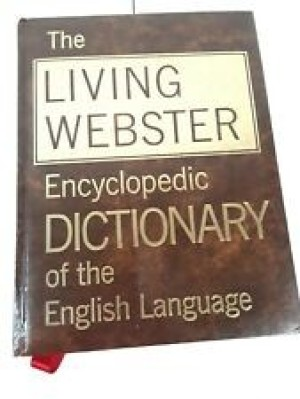 Value of a Living Webster 1967 Dictionary
