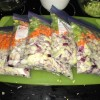 Five bags of mirepoix