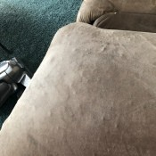 Fixing Little Bumps Under Couch Fabric - bumps under microfiber type fabric