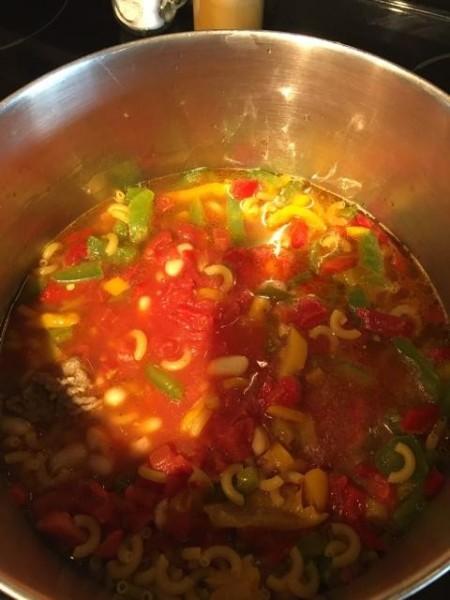 simmering Italian Stew