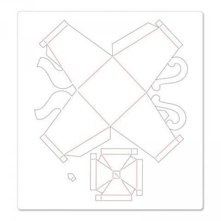 Tea Time - Tissue Box Tea Pot - pattern