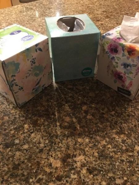 Tea Time - Tissue Box Tea Pot - tissue boxes