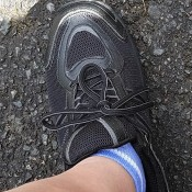 Helping Your Foot Health - left foot