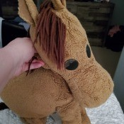 Identifying a Stuffed Horse - floppy brown stuffed horse