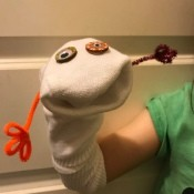 Making Simple Sock Puppet