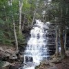 Buttermilk Falls - woodland waterfall