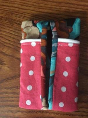 Tissue Case with Pocket - finished case