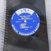 Notebook from Vinyl Records - spiral notebook with vinyl record cover