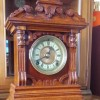 Value of a Ansonia Mantle Clock - ornate wooden mantle clock