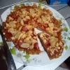 cut Instant Noodle Pizza