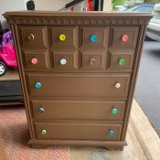 Information on a Bassett Dresser Set