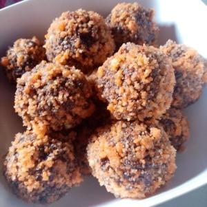 Choco Butternut Munchkins in bowl