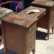 Identifying an Old Vanity - old vanity in poor shape as to finish