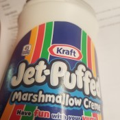 How Many Cups in Jar of Marshmallow Creme? - jar of Kraft marshmallow creme