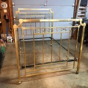 Value of an Antique Brass Bed