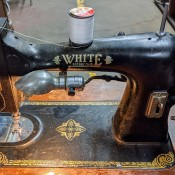 Value of a 1927 White Rotary Sewing Machine - vintage sewing machine