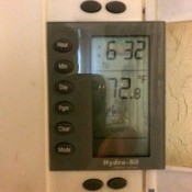Turning Off a Hydro-Sil Heater - thermostat