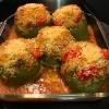 Easy Stuffed Green Peppers