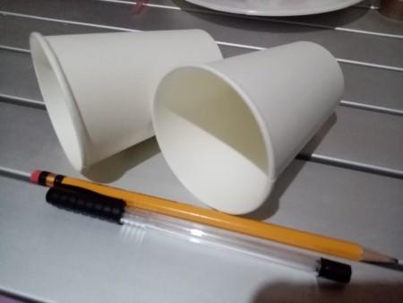 Making an Emoji Cup Toy - supplies