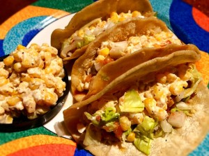 Mexican Street Corn Tacos