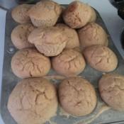 baked buttermilk muffins