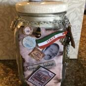 Message on a Bottle (Emigrant Ancestors) - finished jar