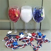 Red, White, and Blue Decor - decoration