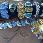 Jewelry Made from Nespresso Coffee Cups - bracelets