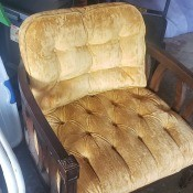 Value of a Vintage Tufted Chair