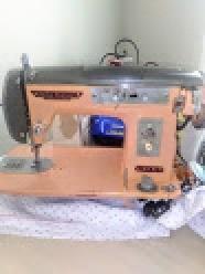 An older sewing machine.