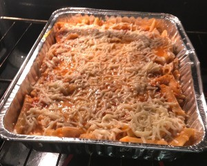 Homemade Baked Ziti with Veggies
