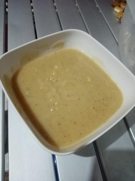gravy in dish