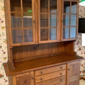 Value of a Conant Ball Breakfront China Cabinet