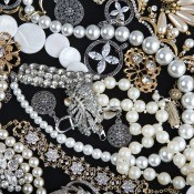 A collection of different jewelry items.
