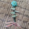 Felt Flower Wand - finished flower wand