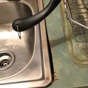 Repairing a Hole in the Laminate Countertop - hole cut too large for the sink