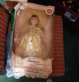 Value of a Porcelain Doll - doll in the box
