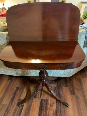 Value of a Mersman Game Table - fold top game table