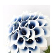 Storing White Artificial Flowers - artificial white calla lilies