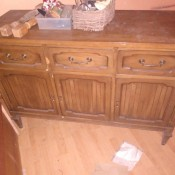 Value of My Antique Buffet Table - three drawered buffet table