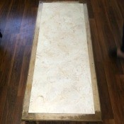 Value of Mersman Living Room Table Set?  - coffee table