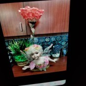 Information on Duck House  Heirloom Porcelain Doll Lamp? - photo on phone