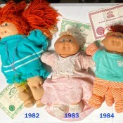 Value of Cabbage Patch Dolls? - 5 Cabbage Patch Kid dolls
