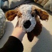 Identifying a Stuffed Dog? - brown and white stuffie